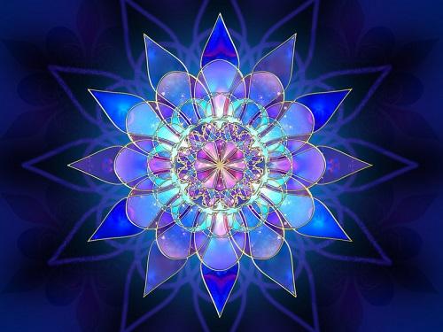 flores fractais 1