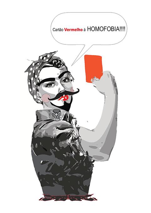 cartao vermelho para a homofobia 2