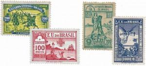 selos postais brasileiros 4B