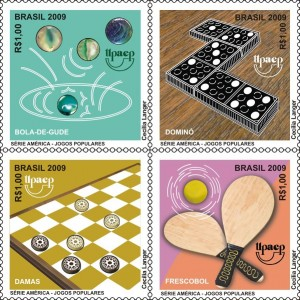 selos postais brasileiros jogos 2