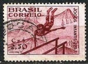 selos postais brasileiros jogos