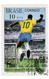 selos postais brasileiros pele