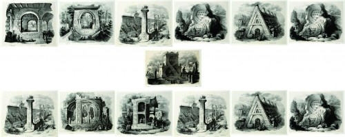 alfabeto pittorico coisaseideias