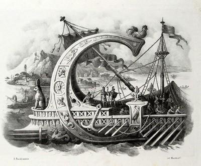 alfabeto pittorico g
