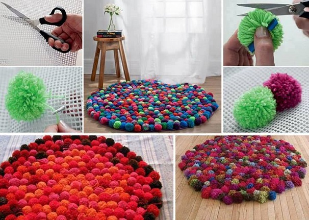 decoracao com pompom 2