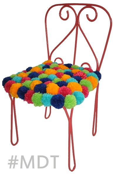 decoracao com pompom 7