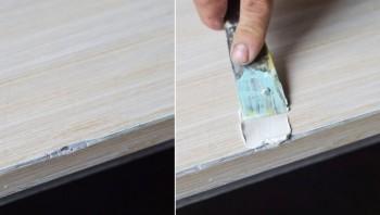 transformar escrivaninha velha em trocador de bebe 2