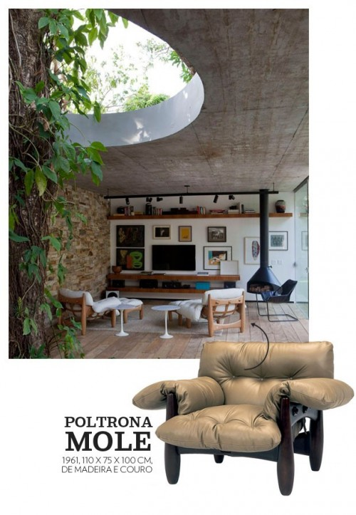 as famosas poltronas e cadeiras de sergio rodrigues 1
