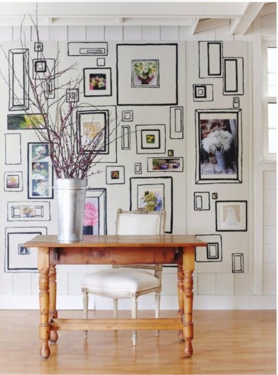 pintura de objetos na parede 2