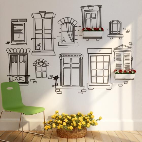 pintura de objetos na parede 5