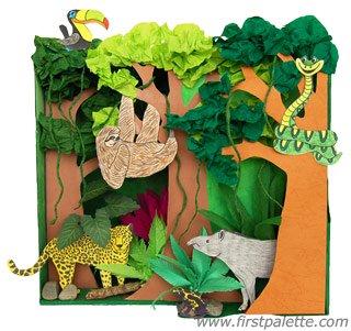 recortes de animais e seus habitats 1