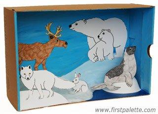 recortes de animais e seus habitats 2