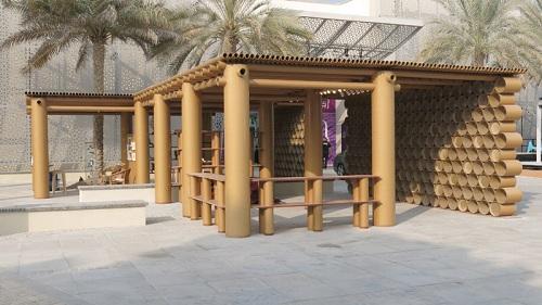 shigeru ban Abu Dhabi Art Pavilion