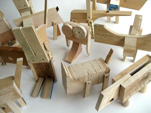 bichos feitos com sobras de madeira 2