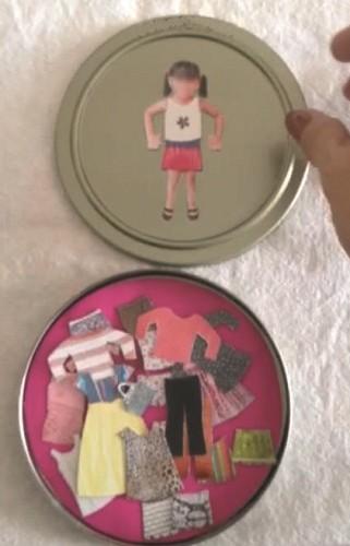 menina boneca de papel 1