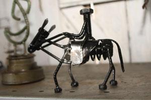 decoracao com pecas de ferro velho 4