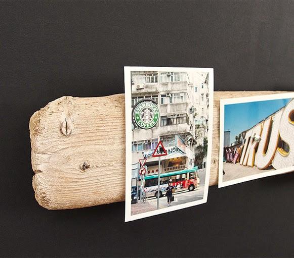 porta objetos de madeira descartada 5