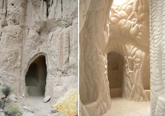 caverna esculpida a mao 6