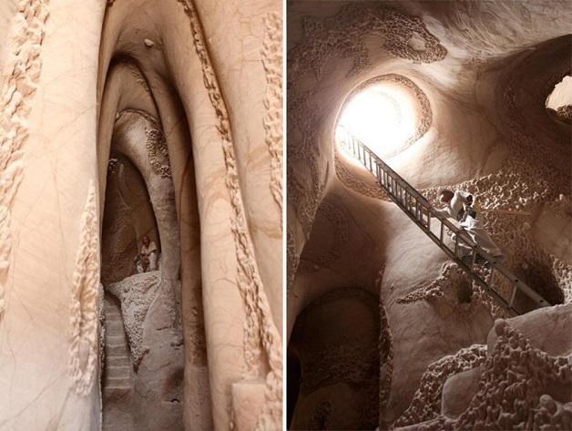 caverna esculpida a mao 7