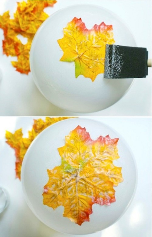 objetos de decoracao com folhas secas 05