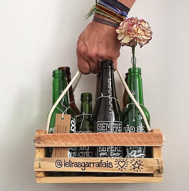 as garrafas inspiradoras do projeto letras garrafais 09