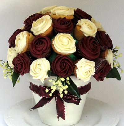 buque-de-rosas-de-cupcake 05