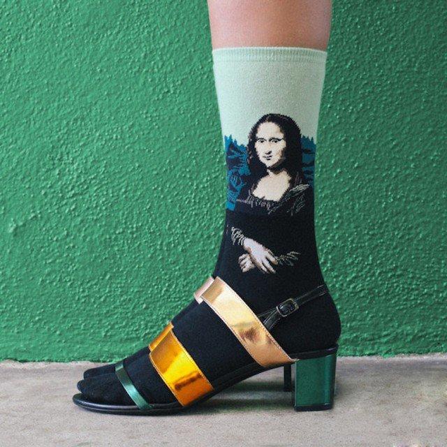 criativas meias inspiradas em obras de arte 01