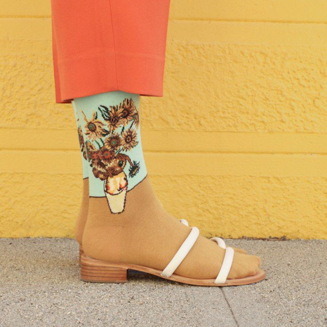 criativas meias inspiradas em obras de arte 03