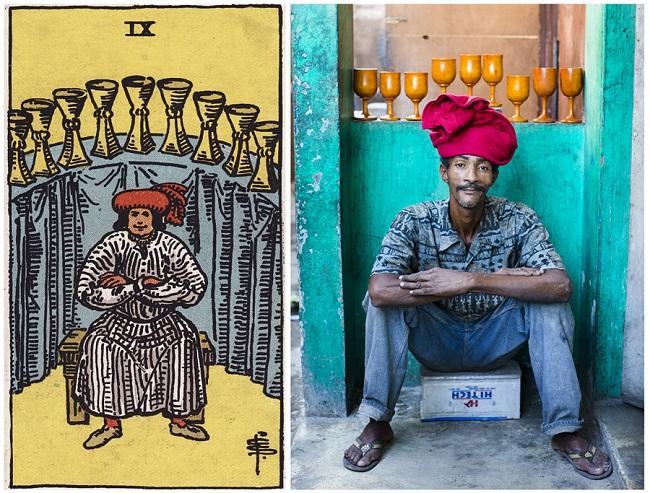 projeto ghetto tarot: reprodução de imagem das cartas no haiti 03