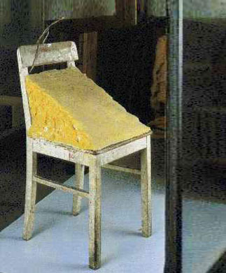 joseph beuys Cadeira com gordura