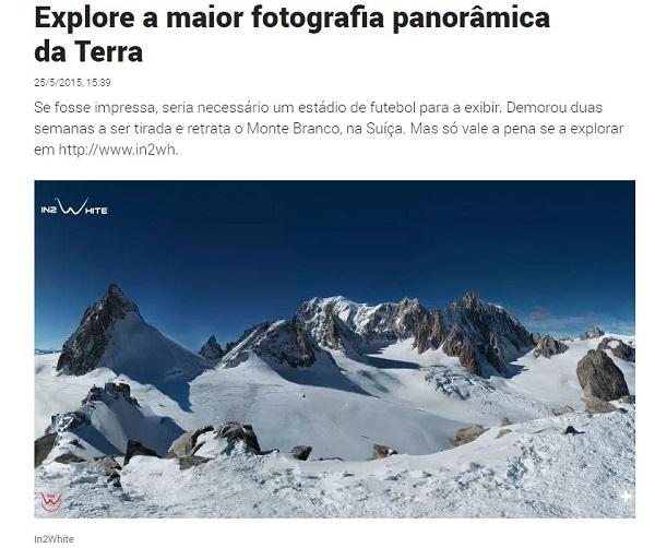 maior fotografia panoramica da terra