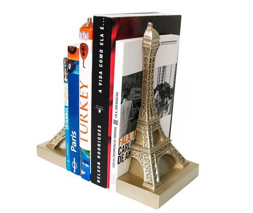 torre eiffel suporte livros