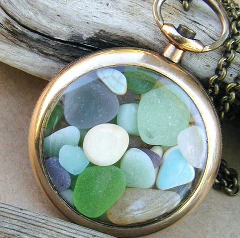 upcycling sea glass