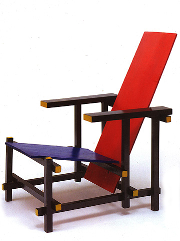 cadeira vermelha e azul 00