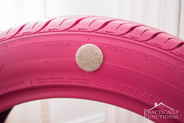 caminha de pneu para o bicho de estimação 03