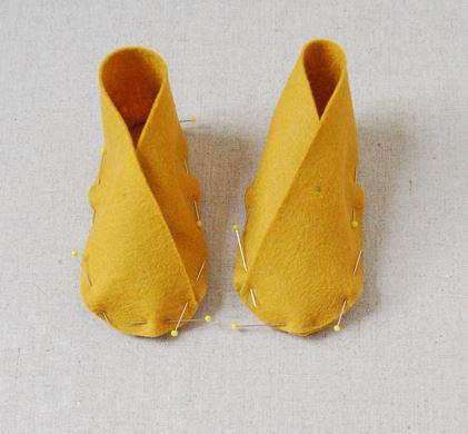 sapatinhos de feltro para bebe 03