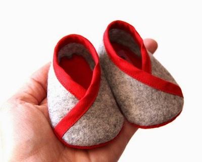 sapatinhos de feltro para bebe 06