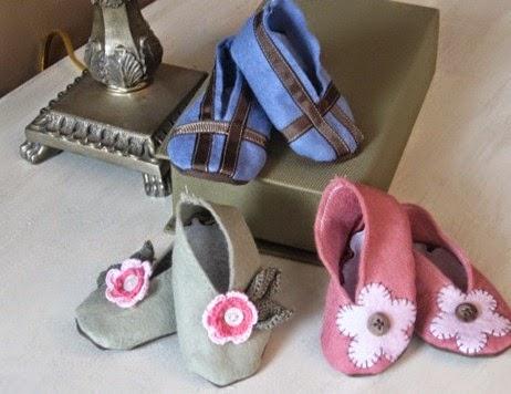 sapatinhos de feltro para bebe 07