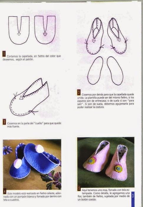 sapatinhos de feltro para bebe 09