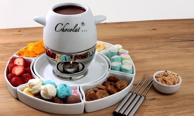 fondue de sorvete com calda de chocolate 05