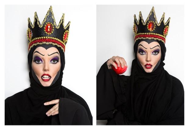 maquiagem da rainha ma para o halloween 01