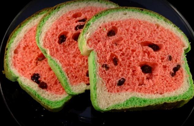 como fazer um pao melancia 01