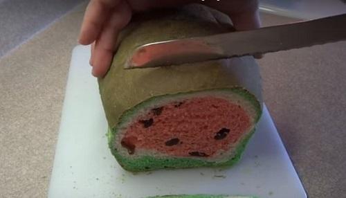 como fazer um pao melancia 05