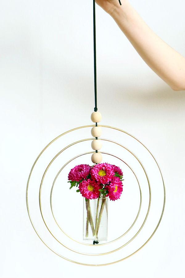 como fazer um suporte para flores original 01